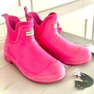 HUNTER rain boots, women's size 7